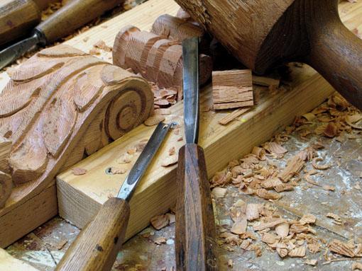 Uitzonderlijk zelf houtsnijden &AI31